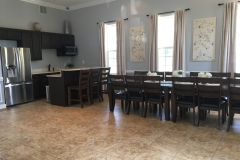 kitchen and dinning area