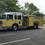 Leesburg Volunteer Fire Department's engine