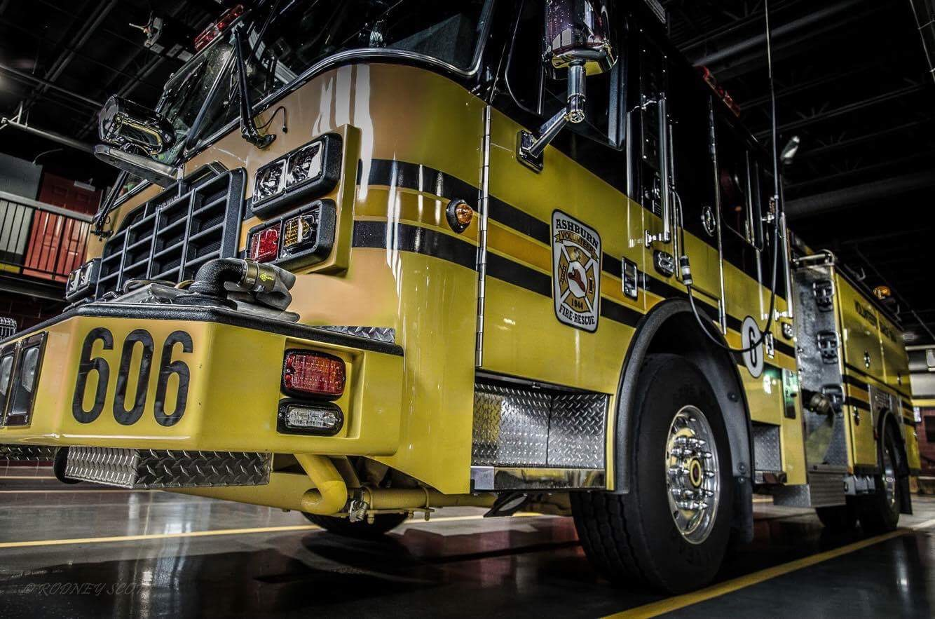 Loudoun County Firee Engine