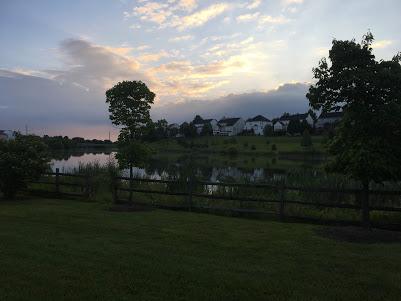 East Stratford Lake and trail