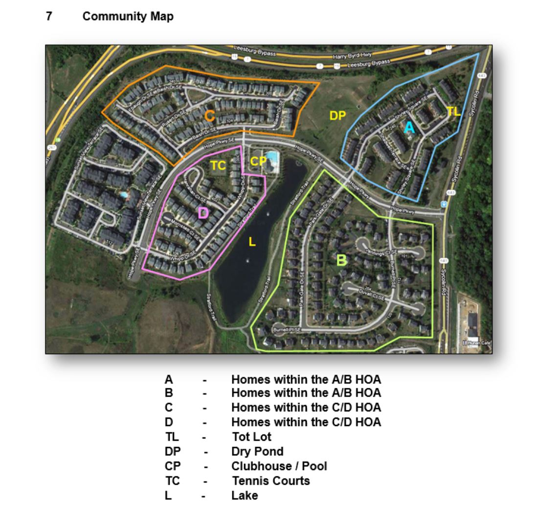 East Stratford Community Map
