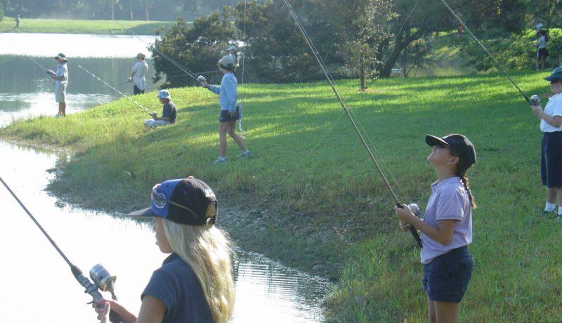 Annual Kids Fishing Tournament