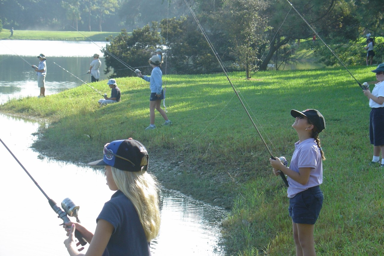 Annual Kids Fishing Tournament