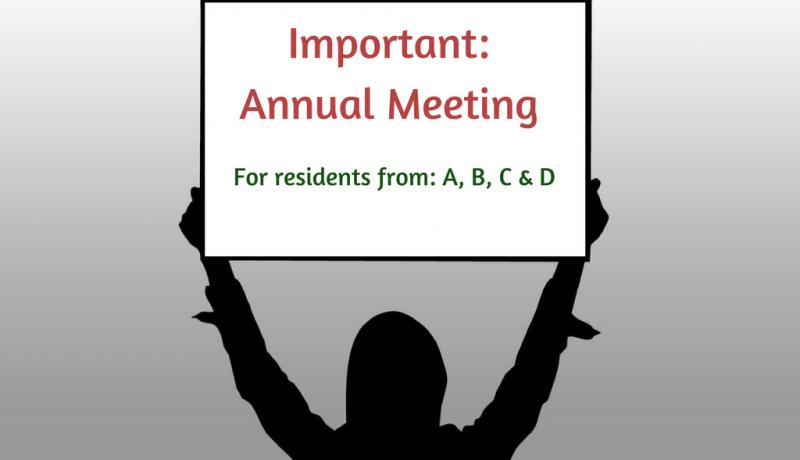 East Stratford HOA annual meeting
