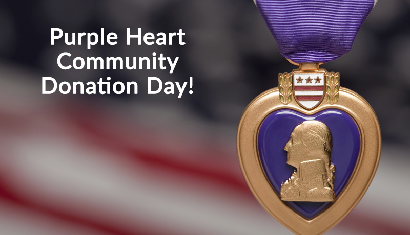 Purple Heart Donation