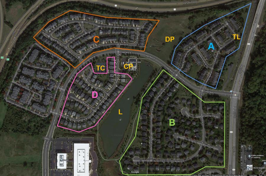 East Stratford Community Map